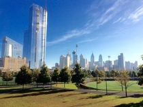 Philadelphia from Penn Parkx
