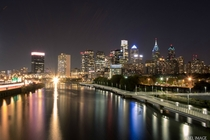 Philadelphia skyline from South Street  x