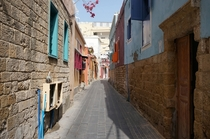 Phoenician Tyres Colorful Christian Quarter - Tyre Lebanon