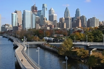 Photo from a bike ride along the Schuylkill River in Philadelphia