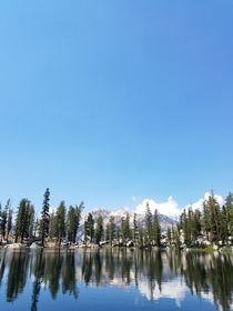 Photo I took back in July  when there was still snow in the High Sierras Heather Lake resolution