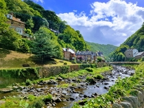 Photo I took when passing through the small town of Lynmouth Devon England