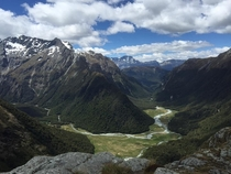 Photo of mountains in New Zealand taken by my friend x OC