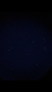 Photo of Star clusters i saw while in Tucson Arizona through a telescope