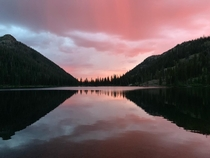 Photo taken at Upper Holland Lake in Montana