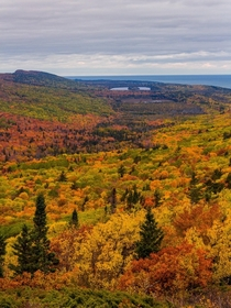 Photo taken in Upper Peninsula of Michigan during fall  - IG naturehacked