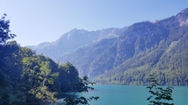 Photos just dont do the Klntalersee Switzerland justice