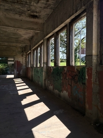 Pic #3 - Taken in an abandoned train station from  in Missouri