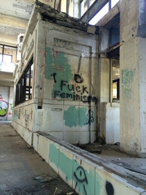 Pic #5 - Taken in an abandoned train station from  in Missouri