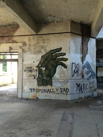 Pic #6 - Taken in an abandoned train station from  in Missouri