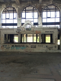 Pic #7 - Taken in an abandoned train station from  in Missouri