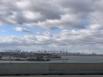 Pic of nyc from afar from November was my first time in new york and was completely blown away on how big it is