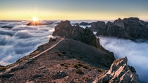 Pico do Arieiro Portugal - Photo by Andreas Wonisch
