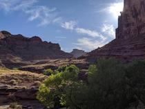 Picture from the Amasa Back trailhead in Moab UT with my Pixel