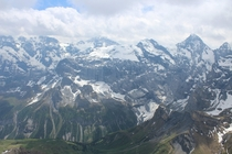 Picture I took near the top of Schilthorn just above Lauterbrunnen Switzerland