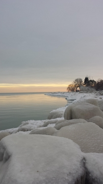 Picture I took on Lake Michigan a few weeks ago