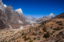 Picture I took while trekking the Himalayas Tabouche Peak   x