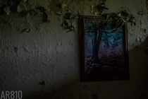 Picture left in a patients quarters at an abandoned psychiatric hospital Detroit MI