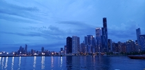 Picture of Chicago taken from the Navy Pier