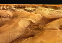 Picture of Ophir Chasma on Mars by Mars Express