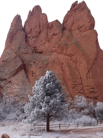 Picture of the Garden of the Gods I took this February
