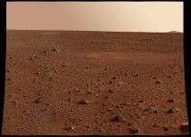 Picture of the martian surface taken by the Spirit Rover x