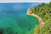 Pictured Rocks in Michigan