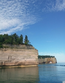 Pictured Rocks National Lakeshore the Upper Peninsula of Michigan