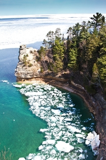 Pictured Rocks National Park Upper Michigan