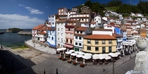 Picturesque Cudillero - fishermen village in Asturias Spain