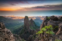 Picturesque Landscape - Stunning Views over Adeje in Tenerife Spain by Raico Rosenberg