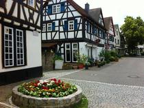 Picturesque village of DreieichenhainGermany near FrankfurtMain
