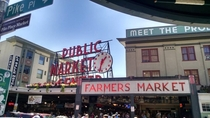 Pike Place Market - Seattle WA