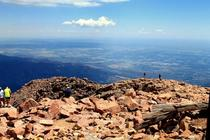 Pikes Peak in Colorado USA