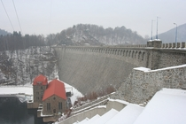 Pilchowice Dam on the Bbr completed in