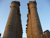 Pillars of Karnak Egypt