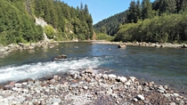 Pine Creek Boulder in WA Great place to swim