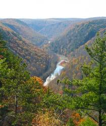 Pine Creek Gorge Pennsylvania aka The Grand Canyon of the East