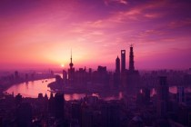 Pink Shanghai Morning