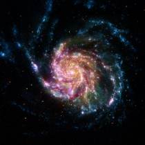 Pinwheel Galaxy Rainbow