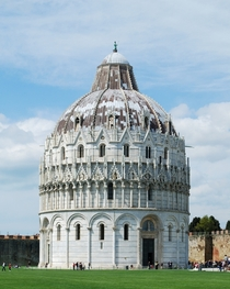 Pisa Baptistry of St John is a Roman Catholic ecclesiastical building in Pisa Italy