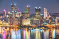 Pittsburgh rarely gets credit for being a beautiful city