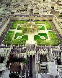 Place des Vosges the oldest planned square in Paris France originally built in early th century