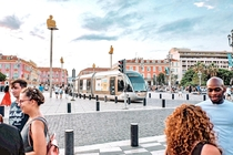 Place Massna in Nice France
