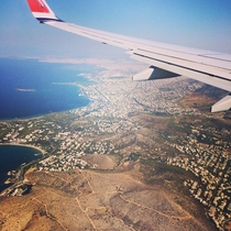 Plane view of Athenes