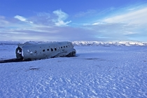 Plane Wreckage  Iceland