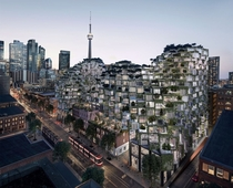 Planned residential project King Street West in Toronto  photo by Bjarke Ingels Group px x px