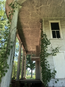 Plantation Home in Morgan County Ga Abandoned long ago