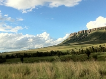 Platberg Harrismith South Africa next to my town elevation is m