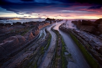 Playa de Barrika in Barrika Basque Country Spain by Philippe Saire